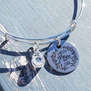 Jewelry - Mom bracelet, expandable bracelet, bangle